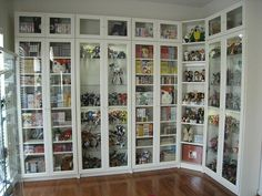 Wooden Bookcases With Glass Doors - Foter