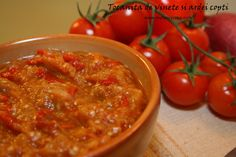 Tocanita de vinete cu ardei copti Other Recipes, My Recipes, Healthy Recipes, Fancy Cake, Romania Food, Hungarian Recipes, Daniel Fast, Pastry Cake, Vegetable Recipes