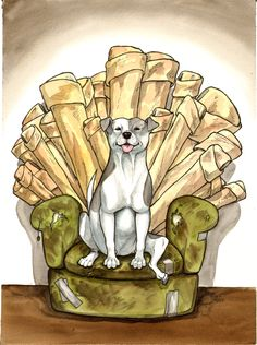 """Game of Bones"". Inspired by ""Game of Thrones"". https://www.youtube.com/watch?v=qpwGCYLMJW8 https://www.facebook.com/pages/Jessie-Pryor-Art/634023236615143?bookmark_t=page http://fineartamerica.com/profiles/1-jessica-pryor.html"