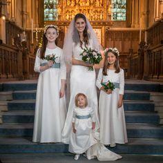 Handmade bespoke gown by Lesley Cutler www.lesleycutlerbridalwear.co.uk