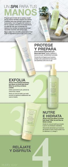 Un SPA para tus manos www.marykay.com/afranks830