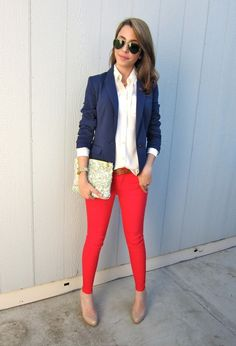 Blue Blazer outfit