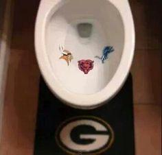 Green Bay Packers hahaha  @Michelle Lea Sanders