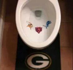Green Bay Packers hahaha  @Michelle Lea Sanders