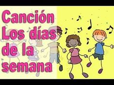 Not much to the lyrics, just repeat, repeat, repeat the days of the week - Easy practice :-) Spanish Practice, Spanish Songs, Spanish Language Learning, Spanish Lessons, How To Speak Spanish, Teaching Spanish, Elementary Spanish, Spanish Classroom, 1st Grade Reading Books