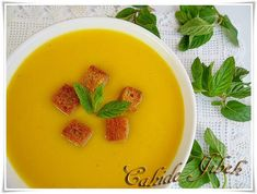 Turkish Kitchen, Cantaloupe, Food And Drink, Pudding, Vegetarian, Fruit, Cooking, Desserts, Soups