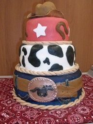 rodeo cake ideas - Google Search