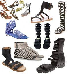 Sandalias gladiador estilo y elegancia para el verano - http://www.efeblog.com/sandalias-gladiador-estilo-y-elegancia-para-el-verano-10415/