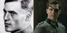 "Claus von Stauffenberg, German army officer and aristocrat who was one of the leading members of the failed 20 July plot of 1944 to assassinate Adolf Hitler and remove the Nazi Party from power.  Tom Cruise in the film ""Valkyrie""."