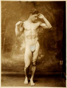 [Male Model with Hand to Head] Met Museum Vintage Boys, Male Form, Male Physique, Gay Couple, Model Photographers, Male Beauty, Vintage Photography, Retro, Vintage Images