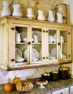 painted antique furniture, just beautiful and you can be so creative with it! Love it!