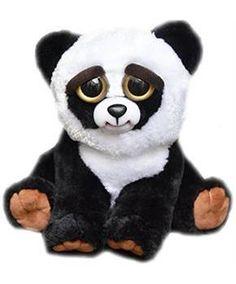 "ToyHo.com - Feisty Pets Black Belt Bobby 8.5"" Plush Panda"