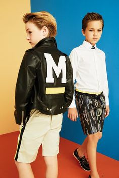 MSGM Kids SS2016 #msgmkids  For the Latest in Boys Fashion + Style + Trends + Talent go to www.boysstylemagazine.com #boysstylemag @boysstylemag