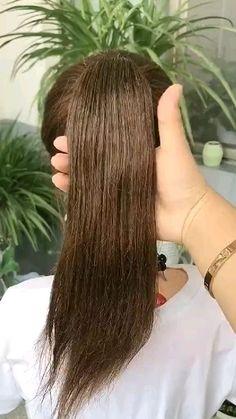 Easy Hairstyles For Long Hair, Bun Hairstyles, Pretty Hairstyles, Toddler Hairstyles, Hairstyles Videos, Girl Hair Dos, Hair Style Girl, Curly Hair Styles, Natural Hair Styles