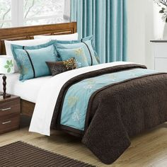 Chic Home Kirsten 6 Piece Comforter Set & Reviews | Wayfair