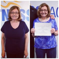 NJ Fitness Factory would like to  congratulate everyone who successfully  completed our first 6 Week Body Transformation Program! Thank you for all the hard work, commitment and dedication during these 6 weeks! We are so proud of all of you!  A special congratulations goes to our weight loss challenge winner, Fran!!! Fran lost a total of 13 lbs! Way to go!