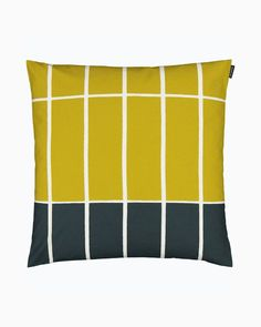 tiiliskivi cushion cover 50x50 Marimekko, Brick Patterns, New Living Room, Home Collections, Soft Furnishings, Cushion Covers, Rat, Contemporary Design, Cushions