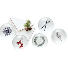 Winter Graphic Paperweight
