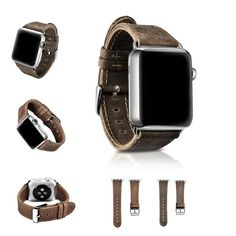 de1868b7478 Apple Watch Series Leather Strap
