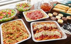 Chicken Parmigiana Combination (Serves 10 - 14) Olive Garden catering for rehearsal