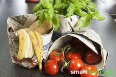 Plastiktüten wohin man nur schaut: von der Gemüsewaage, über die Kasse bis hin zur Mülltüte. Wir zeigen dir einen Trick, wie du viele Tüten einfach ersetzt