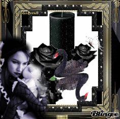 Gotico mujer  vela