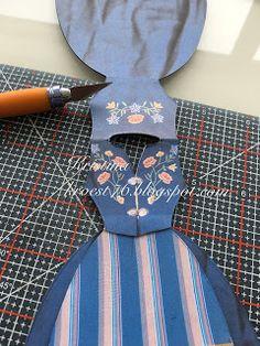 Kristinas kortblogg: Bunadskort - tips og råd Diy And Crafts, Paper Crafts, Trash Art, Scandi Style, Big Shot, Scrapbooking, Two Piece Skirt Set, Envelopes, Tips