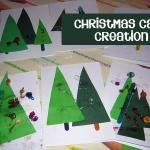 Christmas Crafts for Preschoolers and Toddlers - Cards