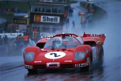 """ SpA SEFAC - Ferrari Chris Amon's quip during the 1970 Brands Hatch 🇬🇧 1000 Kms. Sports Car Racing, F1 Racing, Road Racing, Sport Cars, Amon, Nascar, Supercars, Porsche, Up Auto"