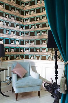 Cole & Son - Fornasetti II Wallpaper - Teatro
