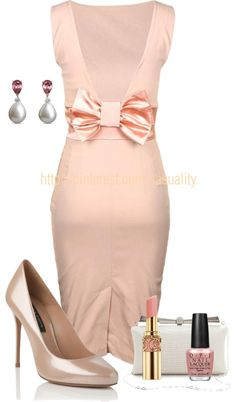 """Bows & Pearls"" by casuality on Polyvore"