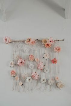 Inspired by today's Foggy Mountaintop Elopement with Macrame feature, we're going to share a two part project we've been working with Los Angeles floral designer Best Day Ever Floral Design and photographer Jesialex. The first of our DIY Easy Macramé Wall Hanging series makes an ideal addition to any bridal shower, home decor or even … #DIYHomeDecorProjects