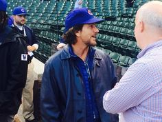 Eddie Vedder in the house