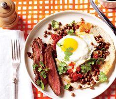 Steak and Eggs Rancheros #SelfMagazine #Superfood