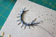 Caterpillar Stitch - Caterpillar Binding by MissRuth, via Flickr