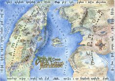 Maps of Middle Earth First Age | Rich and Strange Aeons - minute clinic, books, Avatar, Heinlein ...