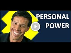 TONY ROBBINS LESSONS - GOALS - UNLEASH THE POWER WITHIN -  AWAKEN THE GIANT WITHIN