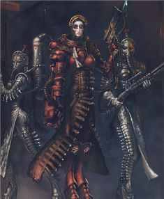 40K Lore: The Sisters of Silence