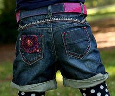 Catimini Navy/Raspberry Top Stitch Leather Belt   *Preorder*