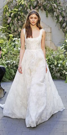 The Prettiest Spring 2017 Wedding Dresses from Bridal Fashion Week - Monique Lhuillier - from InStyle.com