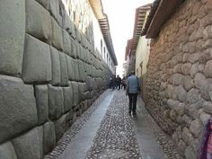 Megalithic on the left Incan on the right.