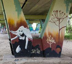 Graffiti Drachsterbrug Leeuwarden (NL) October 2012 art kunst Friesland Nederland NL streetart Photo by: Jascha Hoste