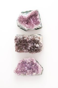 Use amethyst to connect to your intuition and your higher Self. It carries energies of creativity, spirituality, peace and protection. Amethyst is February's birthday making it the perfect gift for your beloved Aquarian. Each raw cluster is one of a kind Crystals Minerals, Rocks And Minerals, Crystals And Gemstones, Stones And Crystals, Healing Crystals, Swarovski Crystals, Chakra Crystals, Healing Stones, Amethyst Cluster