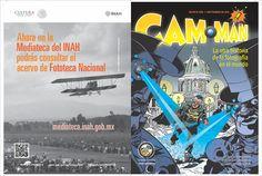 Primer cómic mexicano sobre la historia de la fotografía en el mundo. Comic Books, Movie Posters, Movies, World, Mexican, Journals, Films, Film Poster, Cinema