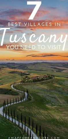 The 7 best villages in Tuscany to visit with all the great things to do! Tuscany | Italy | Things to do | Travel #Tuscany #Italy #Travel