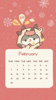 Kawaii Wallpaper, Iphone Wallpaper, Cute Photos, Cute Pictures, Japanese Cartoon Characters, Cute Calendar, Cute App, Cute Animal Drawings Kawaii, Korean Art
