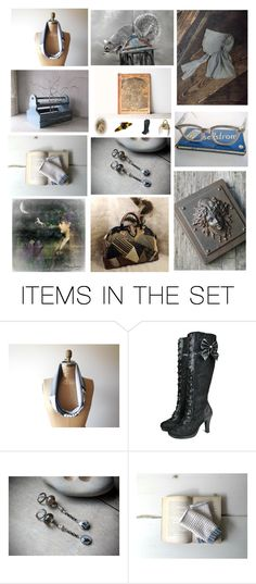 """""""Slightly Obsessed"""" by jarmgirl ❤ liked on Polyvore featuring art, vintage, steampunk, antique and repurposed"""