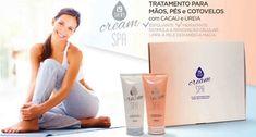 Linha i9Skin com Cream SPA Hidratante e Cream SPA Esfoliante i9life