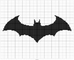 Knit Bat Silhouette Chart, Intarsia Knitting Graphs, Halloween Bat, Batman Symbol Charts Fiber Art Designs for Crochet, Knitting, and Embroidery Patterns  Embellish a beautiful pillow with this bat silhouette. Perfect for a pillow, wall art, or blankets. This design is worked across 100 stitches & 100 rows. A fun design perfect for this time of year. You will receive 4 pdf files, and 1 svg file each can be easily printed or enlarged for easy viewing on your laptop, tablet, or phone.  The…