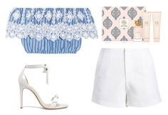 """""""Untitled #198"""" by ema-jones on Polyvore featuring Miguelina, Alexandre Birman and Tory Burch"""